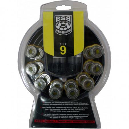 BSB ABEC 9 cuscinetti per pattini inline