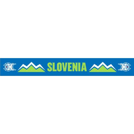 Fan sciarpa squadra nazionale Slovena