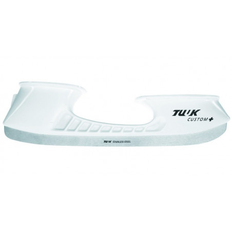 Tuuk Custom + supporto per pattini da ghiaccio per hockey completo con lame perforate - Senior