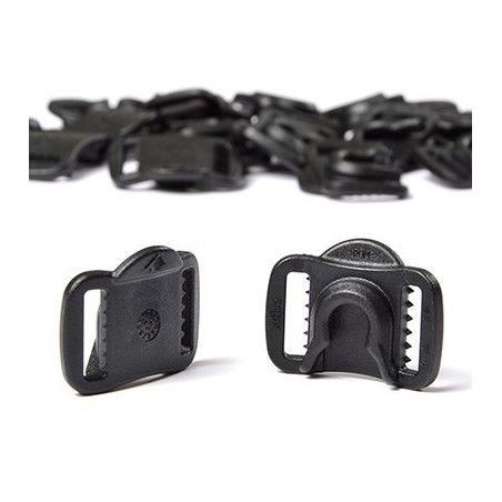 Plastic buckles for helmet Bauer Prodigy
