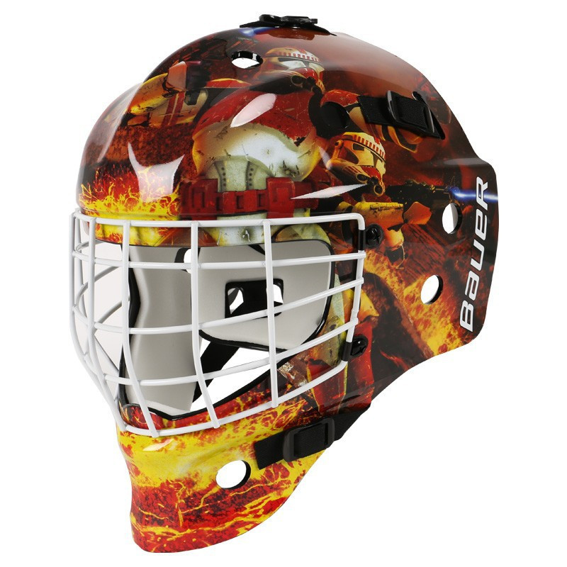 Bauer Nme Street Star Wars Troopers Hockey Goalie Mask Youth