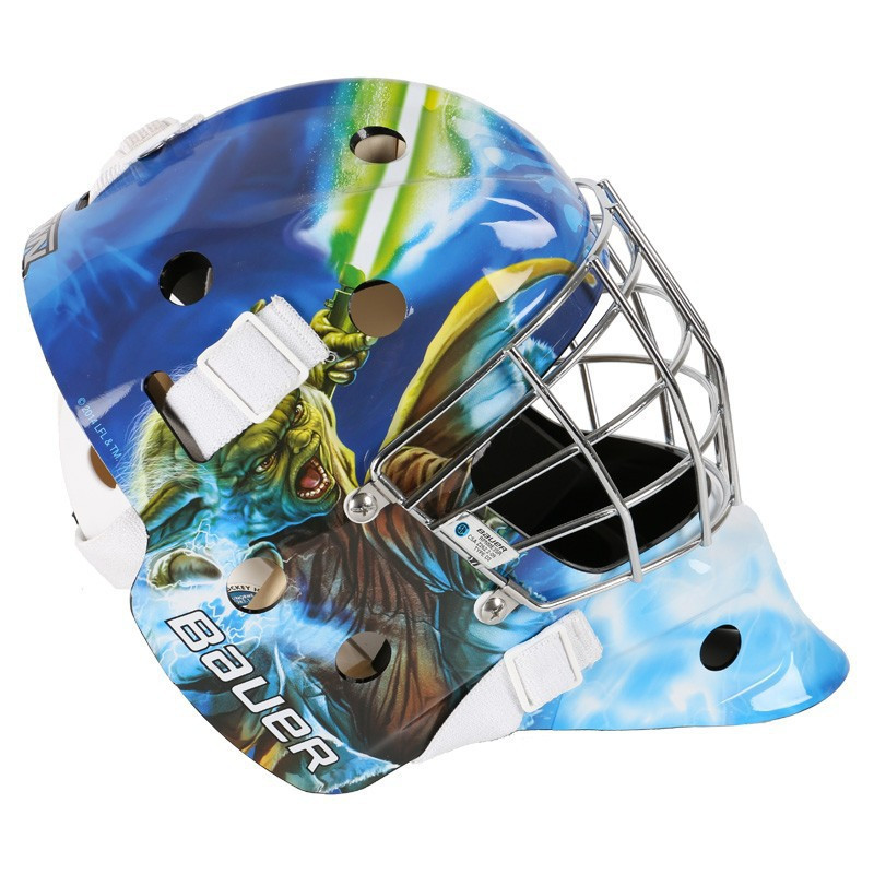 Bauer Youth NME Street Goal Mask Yoda