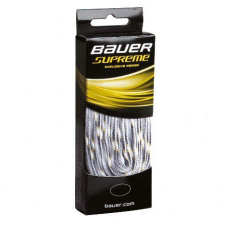 Bauer Laces Supreme - white