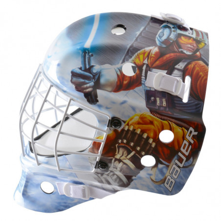 "Bauer NME Street Star Wars ""Luke"" casco portiere per hockey - Youth"