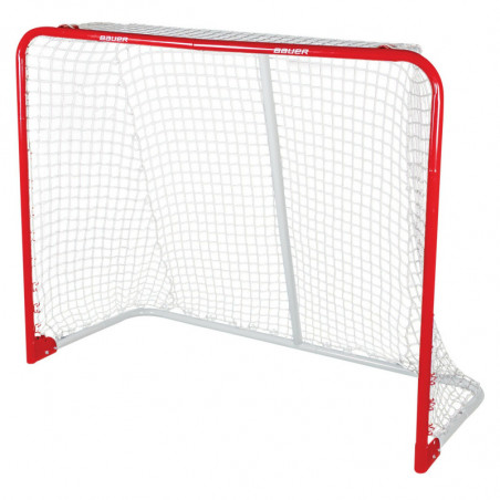 "Bauer Performance 54"" metal hockey goal"