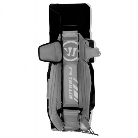 Warrior Ritual G3 Pro hockey goalie leg pads - Senior