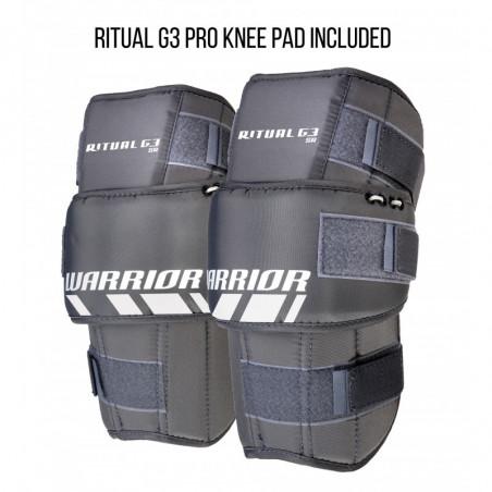 Warrior Ritual G3 Pro hokejski ščitniki za noge za vratarja - Senior