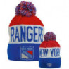 Old Time Hockey NHL New York Rangers Reversible Beanie
