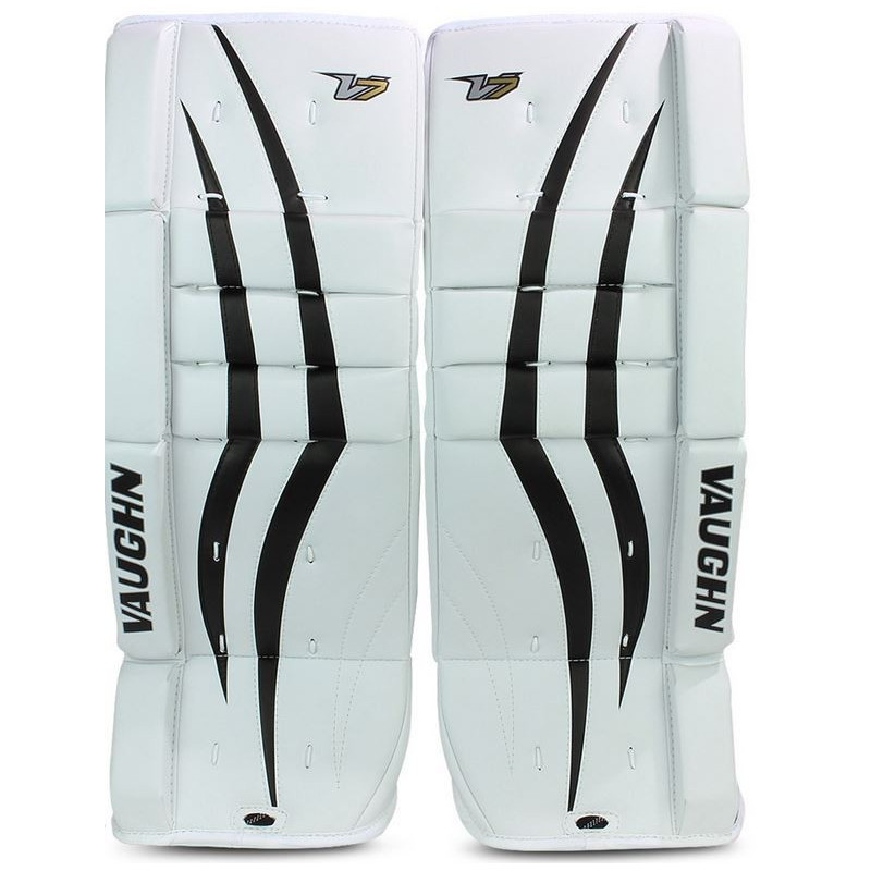 Vaughn Velocity XF hockey goalie leg pads - Kids