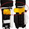 Bauer Nylon Knee/Thigh Straps - Senior