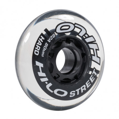 Hi-Lo Street wheels for hockey skates