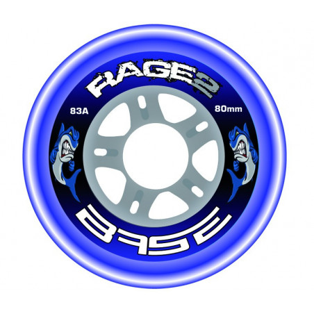 Base Outdoor Rage 2 wheels for hockey inline skates