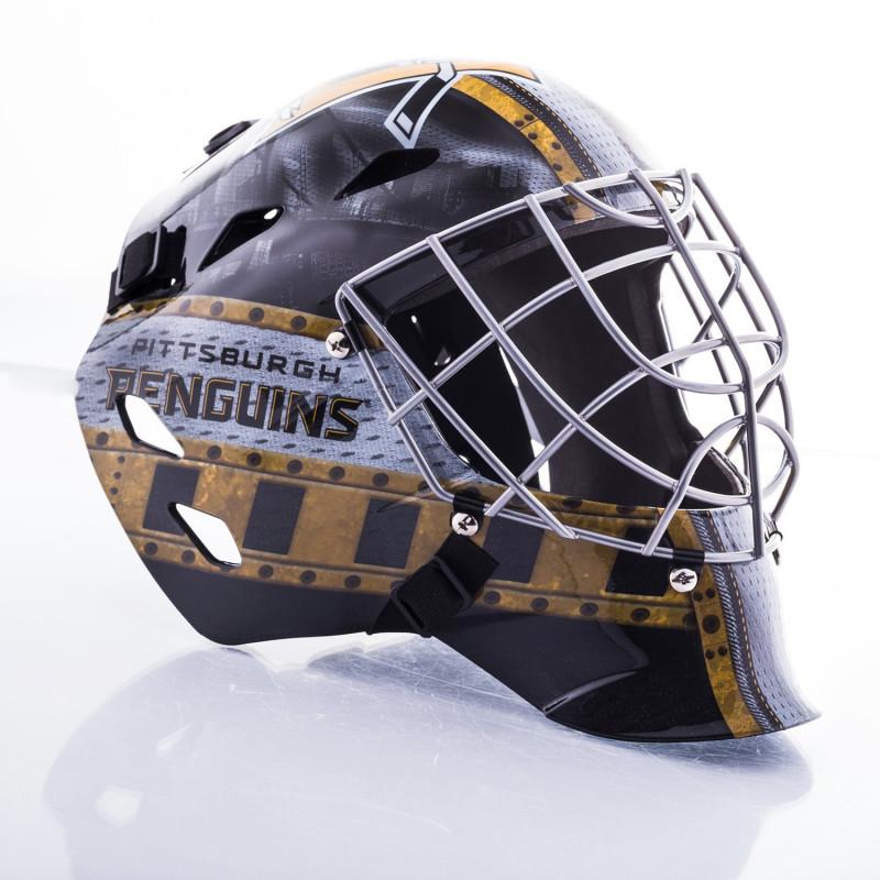 Franklin Nhl Team Mini Hockey Goalie Mask