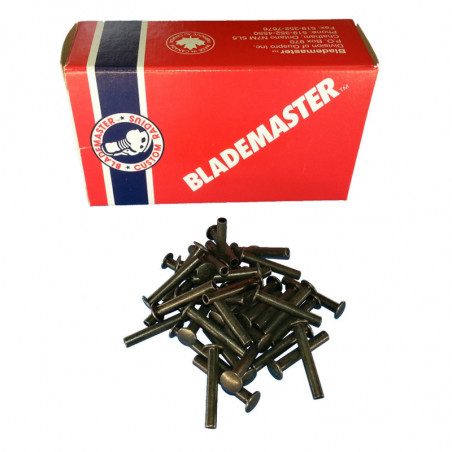 "BLADEMASTER Steel-Rivets 8/16""-12,7 mm- kovice"