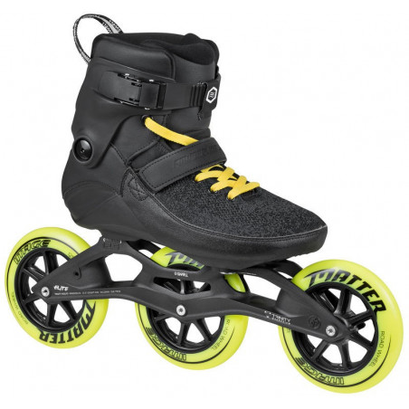 Powerslide Swell Trinity Black Road 125 pattini inline fitness - Senior