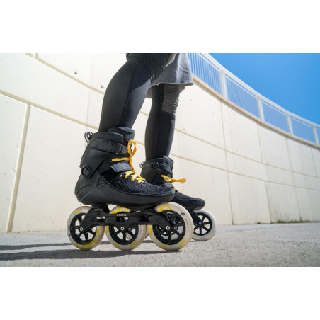 Powerslide Swell Trinity Black City 125 pattini inline fitness - Senior