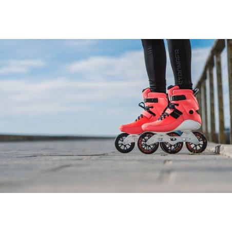 Powerslide Swell Trinity Bright Crimson 110 fitness skates - Senior
