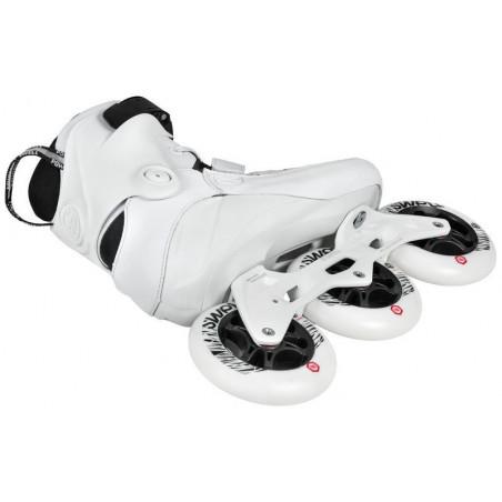 Powerslide Swell Trinity Ultra White 110 fitnes roleri - Senior