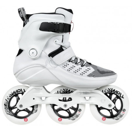 Powerslide Swell Trinity Ultra White 110 fitness skates - Senior
