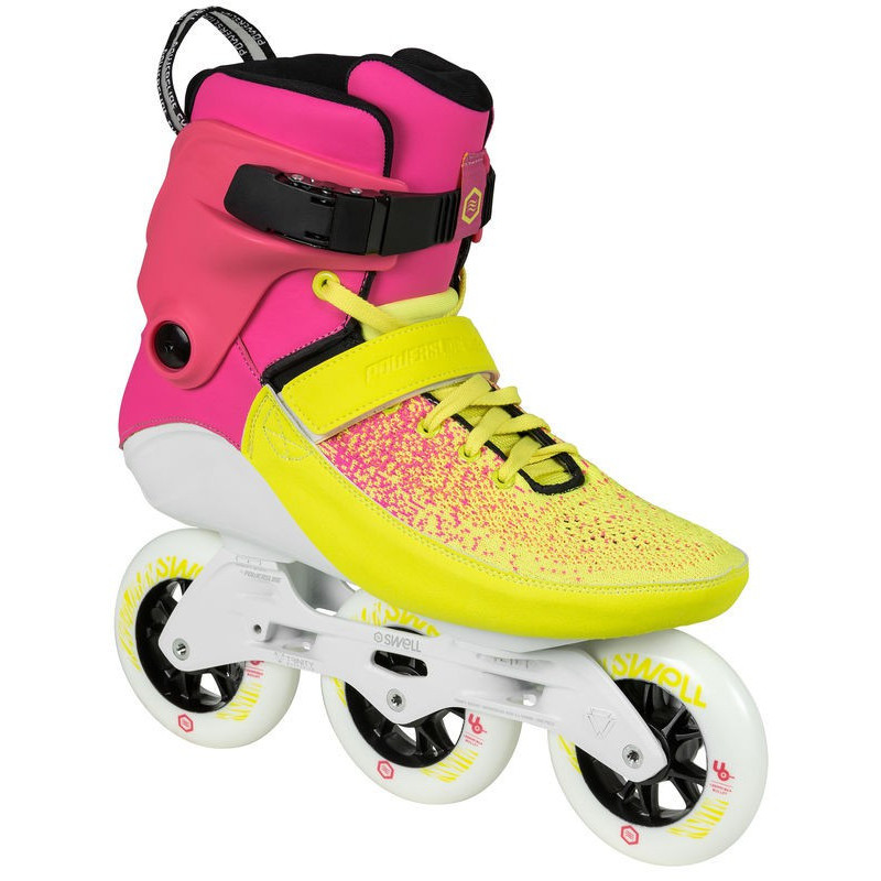 fb347803d65 Powerslide Swell Trinity Multicolor Flare 100 fitness skates - Senior