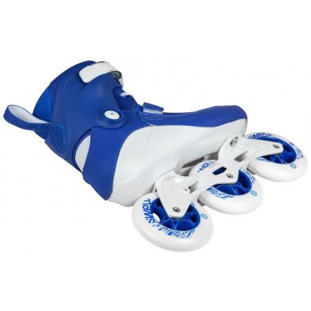 Powerslide Swell Trinity Royal Blue 100 fitnes roleri - Senior