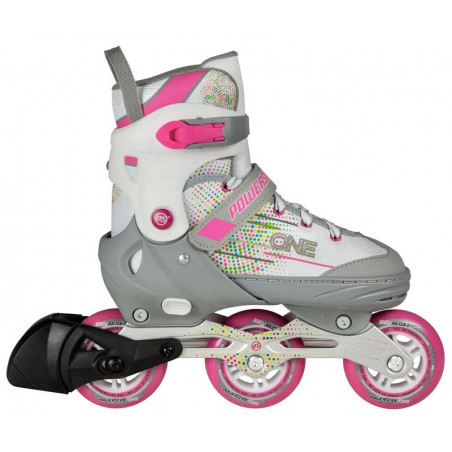 Powerslide One Joker Girls skates für Kinder - Junior