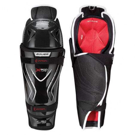 Bauer Vapor X800 LITE Senior hockey shin guards - '18 Model