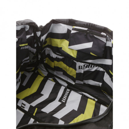 Warrior Q10 Cargo borsa con ruote per hockey