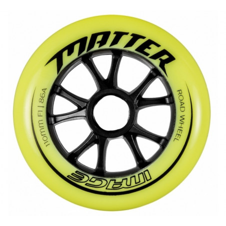 Matter Image wheel for inline skates