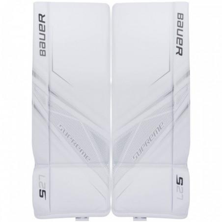Bauer Supreme S27 hockey goalie leg pads - Junior