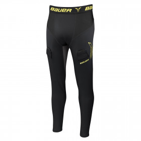 Bauer Compression larghi pantaloni con conchiglia per hockey - Senior