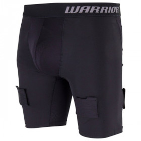 Warrior Compression breve pantaloni con conchiglia per hockey - Senior