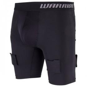 Warrior kratke kompresijske hokejske spodnje hlače s suspenzorjem - Senior