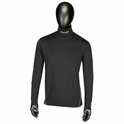 Bauer NG Core Neckprotect  LS Top hokejska spodnja majica z dolgimi rokavi - Senior