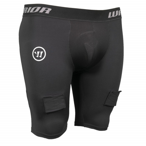 Warrior Compression breve pantaloni con conchiglia per hockey - Junior
