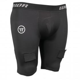 Warrior Compression breve pantaloni con conchiglia per hockey - Junior