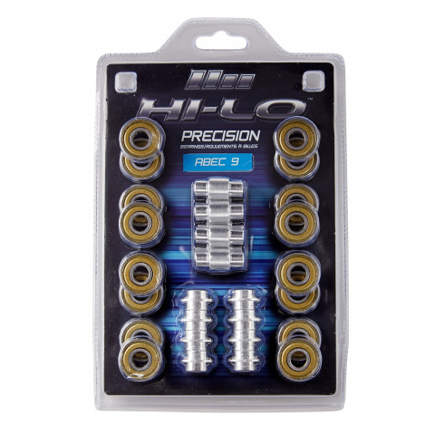 HI-LO ABEC 9 608 bearings for inline skates