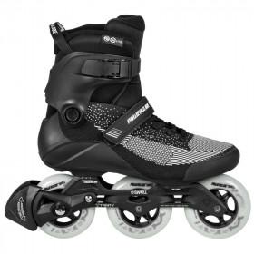 Powerslide Swell lite black 100 fitness skates - Senior