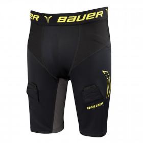 Bauer kompresijske hokejske spodnje hlače s suspenzorjem - Senior