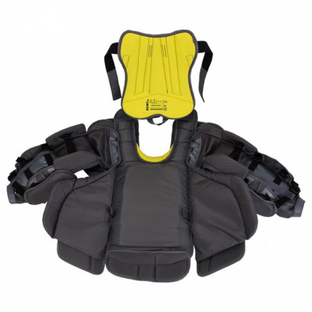 Warrior G4 Pro hockey shoulder and chest pads - Senior