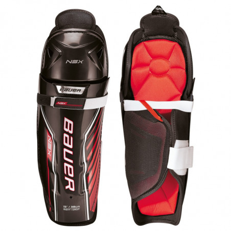 Bauer NSX Junior hockey shin guards - '18 Model