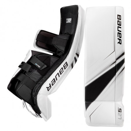 Bauer Supreme S27 hockey goalie leg pads - Junior