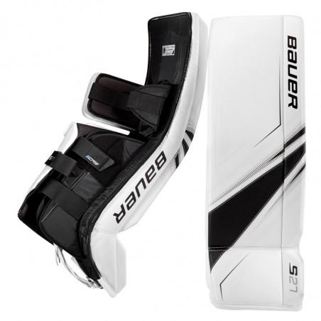Bauer Supreme S27 paragambe portiere per hockey - Junior
